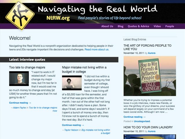 Navigating the Real World screenshot