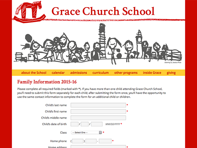 grace-family-info-form
