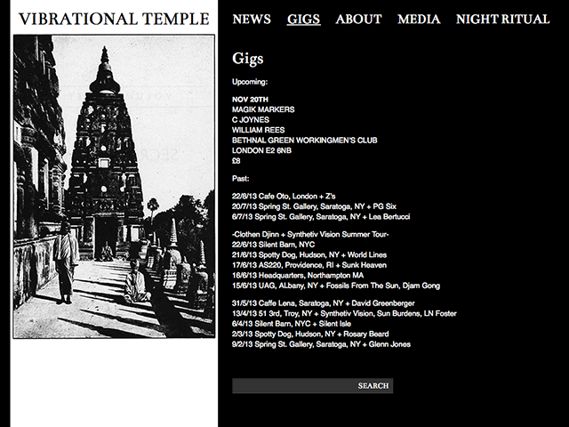 Vibrational Temple